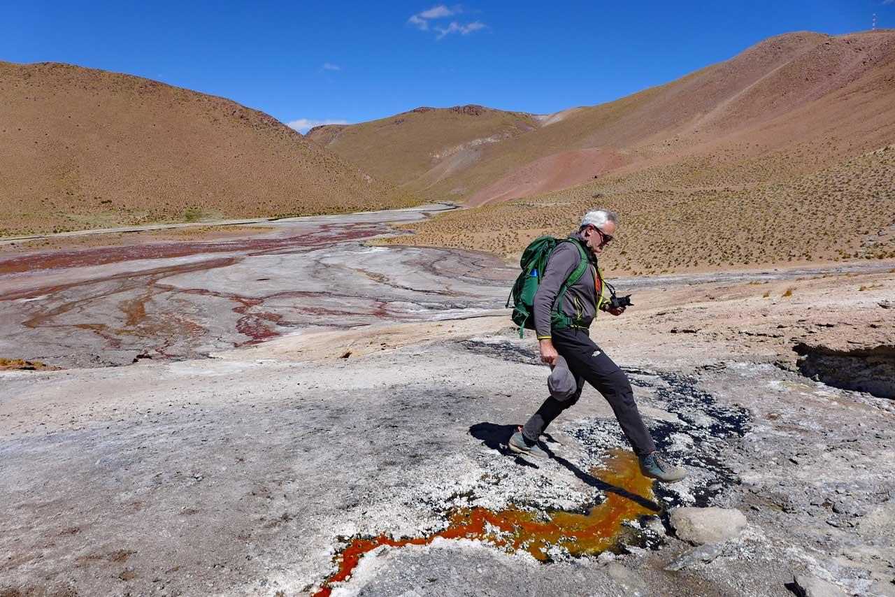 Rio Blanco Wanderung auf 4.400m, Atacama