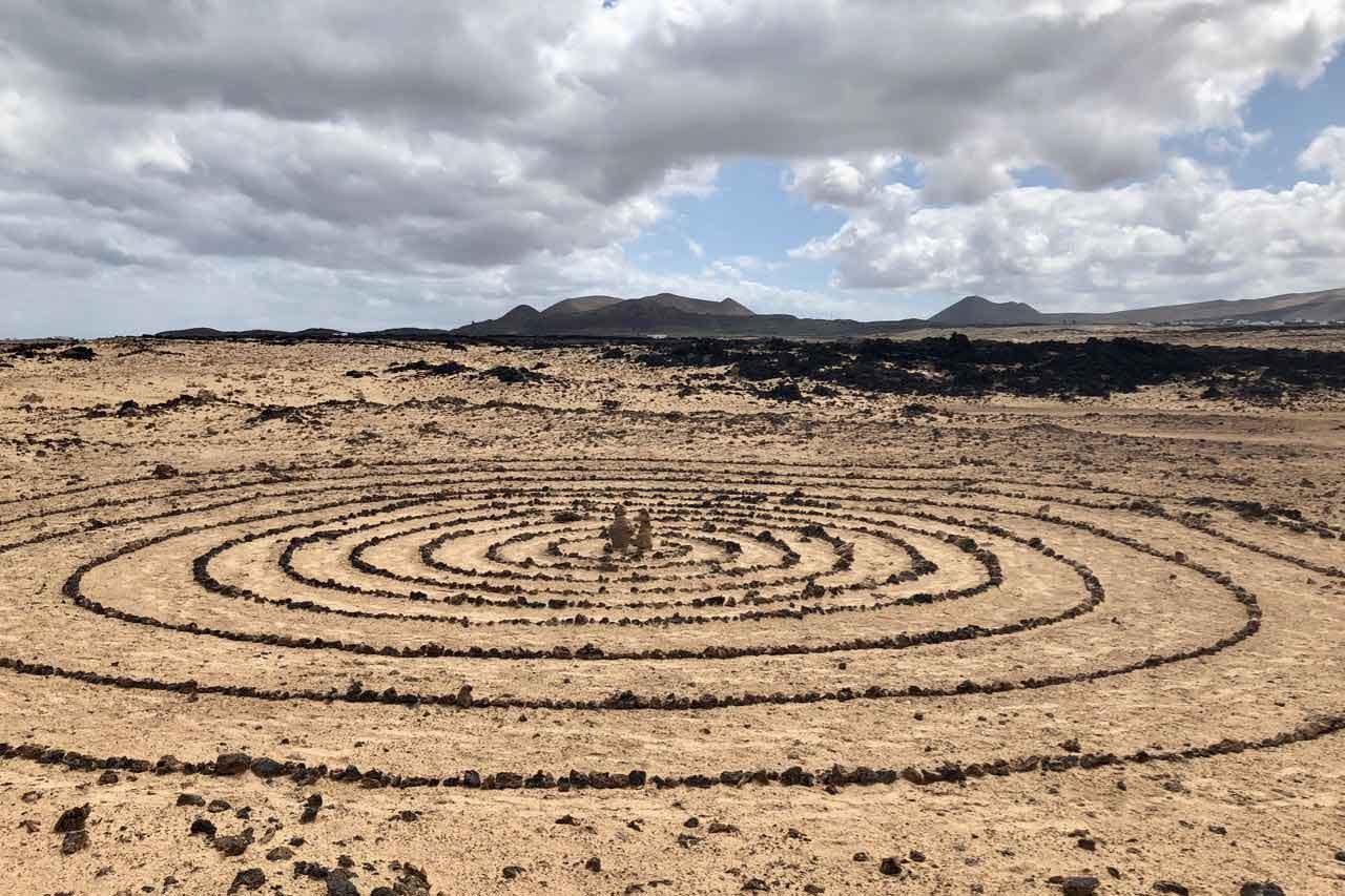 Küstenwanderweg bei Lotus del Mar, Mala Lanzarote