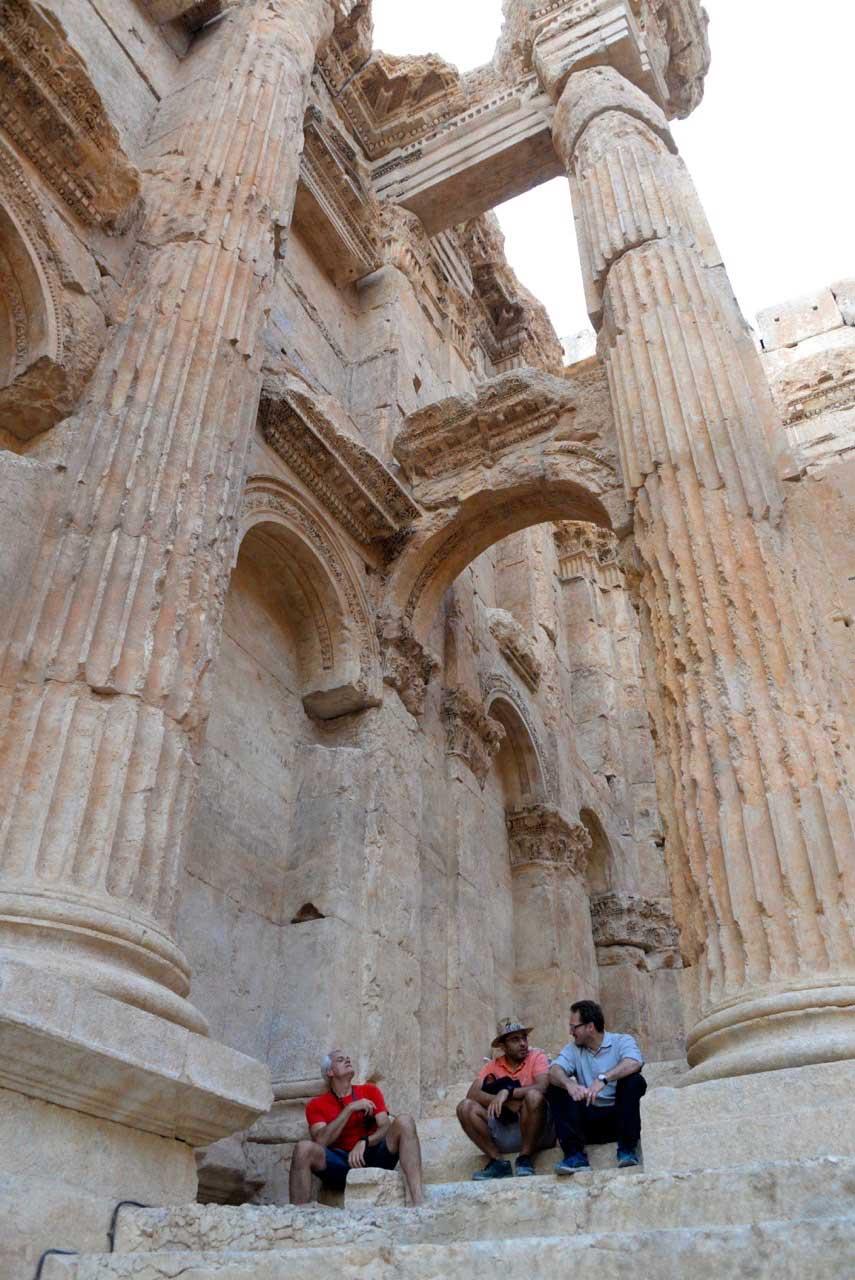 Baalbek Tempelanlage Libanon