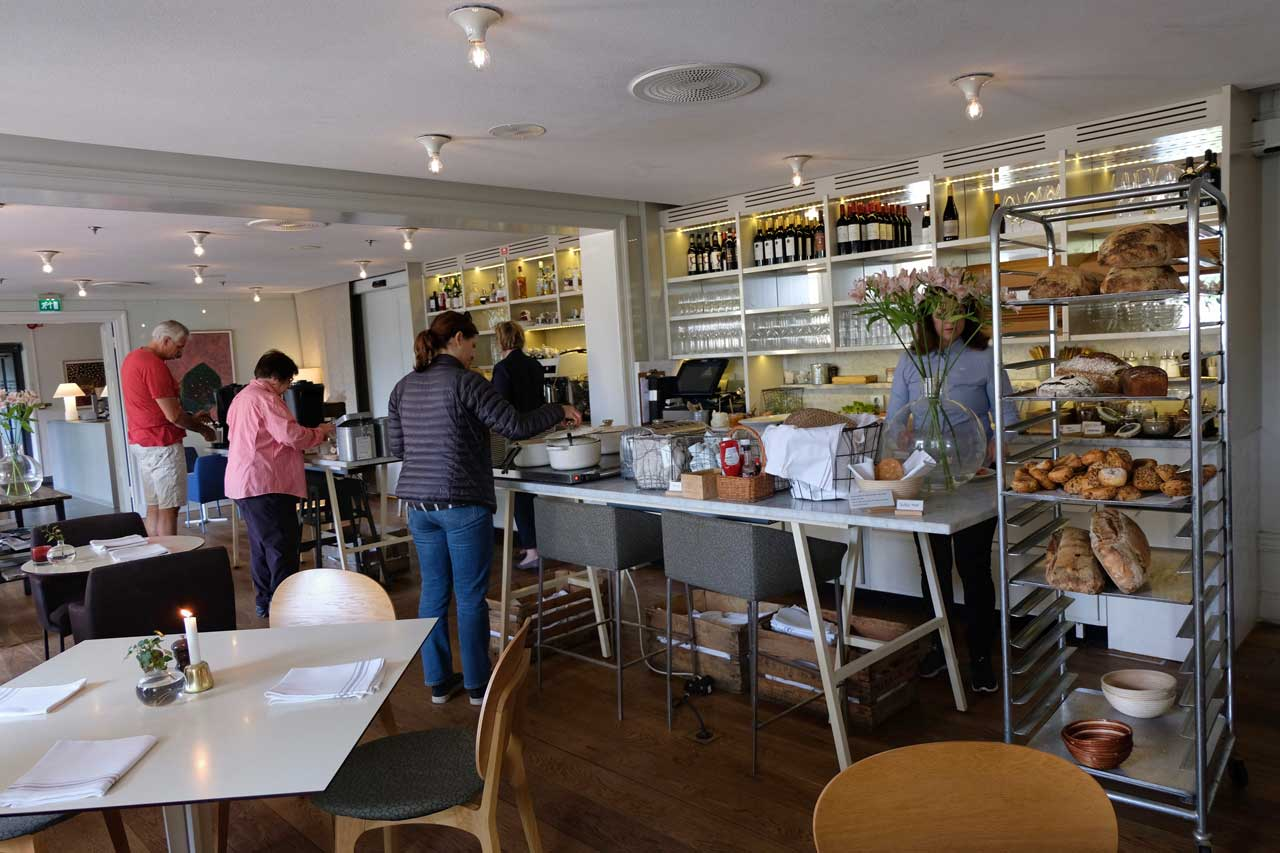 Frühstückszeit im Skeppsholmen