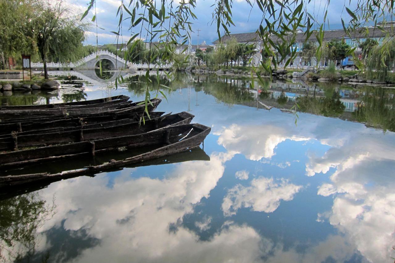 Xizhou wie gemalt, das Nachbardorf von Dali