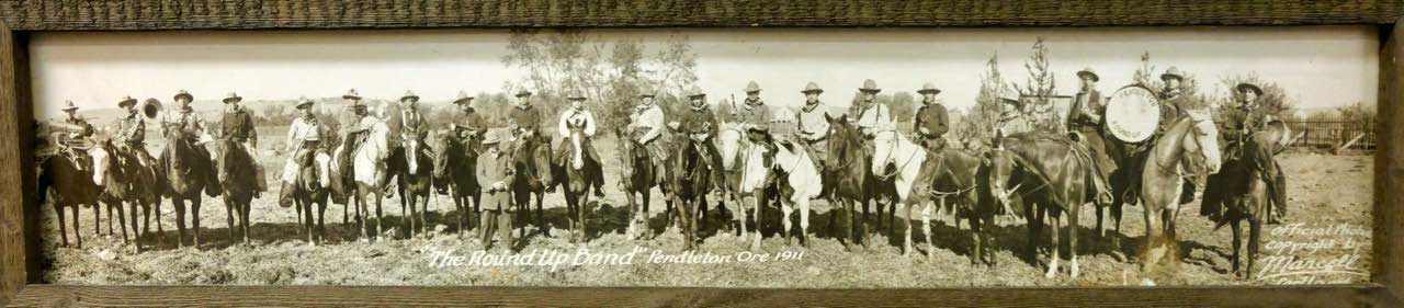 Round Up Rodeo Teilnehmer Pendleton 1911