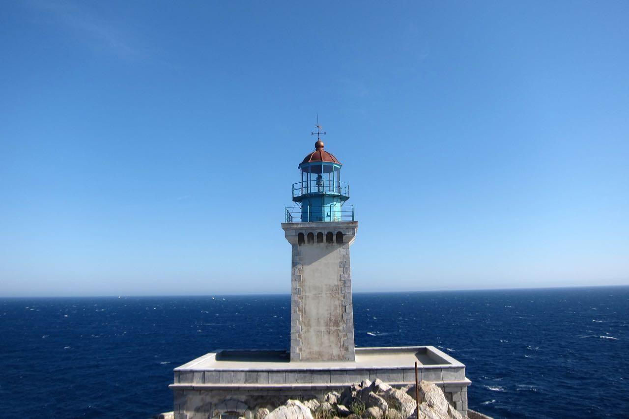 Leuchtturm Kap Tenaro dem Ende der Mani