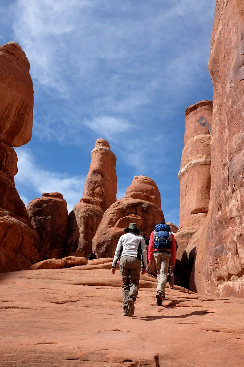 Fiery Furnace Trail, Arches National Park
