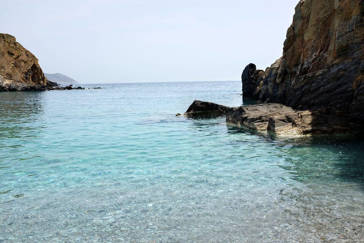 Badebucht Kyparissos (Mani Peloponnes)