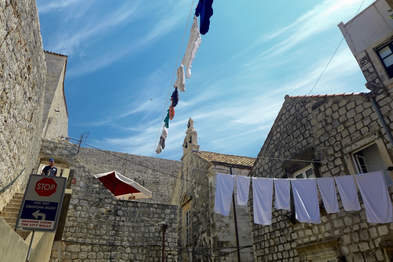 Zum Rundgang auf Dubrovniks Stadtmauer