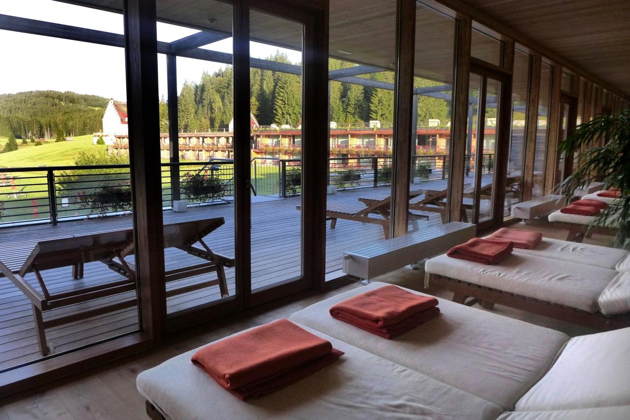 Großzügiges Wellness im Kranzbach Hotel