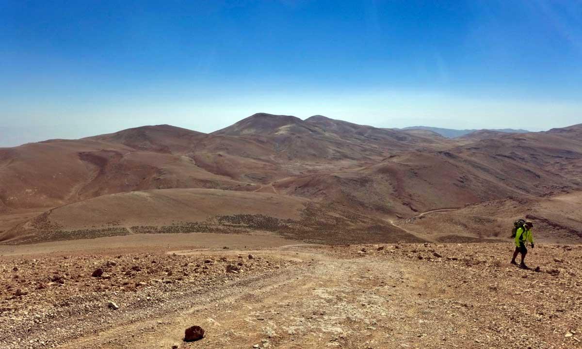 Wanderung auf den Qurnat as Sauda