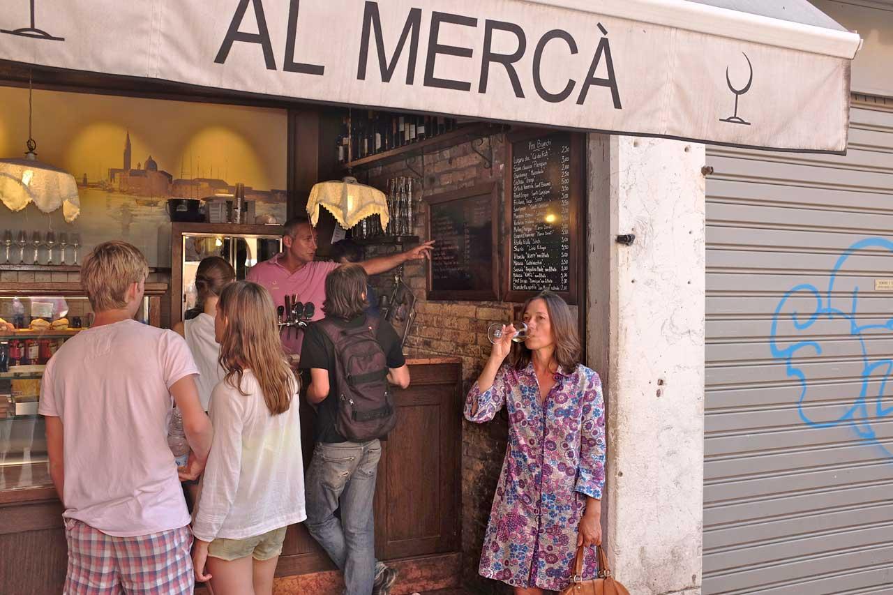 Weinbar Al Merca Venedig
