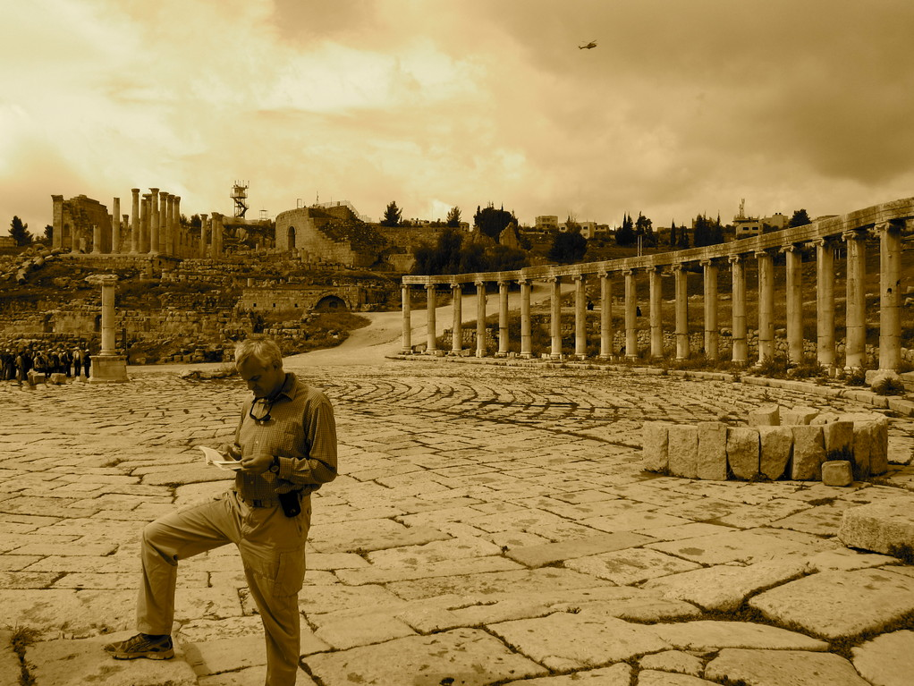Das Ovale Forum Jerash