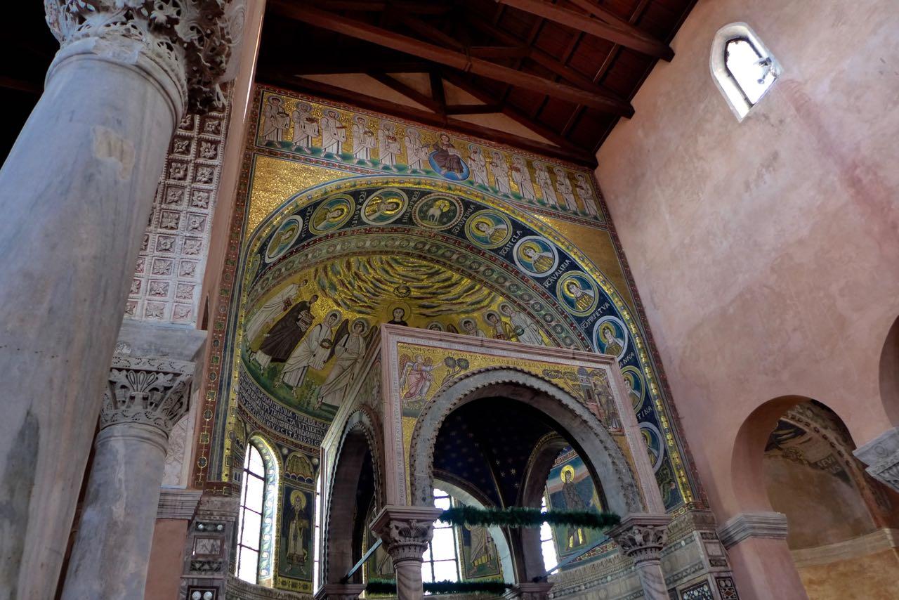 Poreč Kulturerbe Basilika Euphrasius
