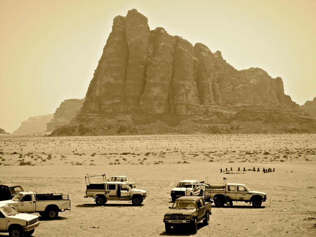 Die 7 Säulen der Weisheit, Wadi Rum Jordanien