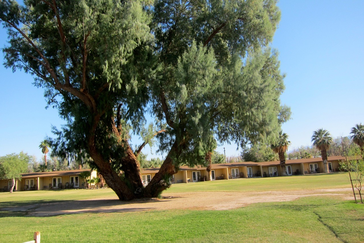 Furnace Creek Ranch Loging, Death Valley
