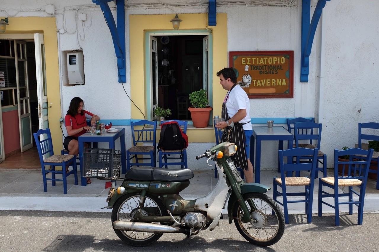 Taverne in Pylos Peloponnes