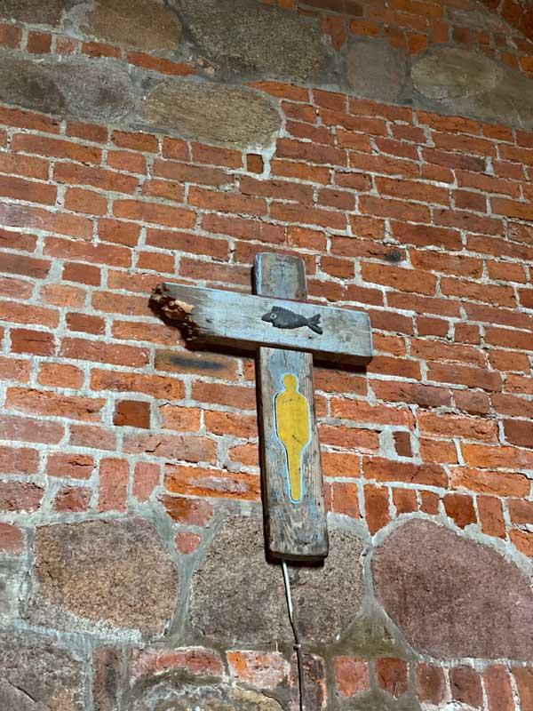 Kreuz Kirche St. Severin in Keitum