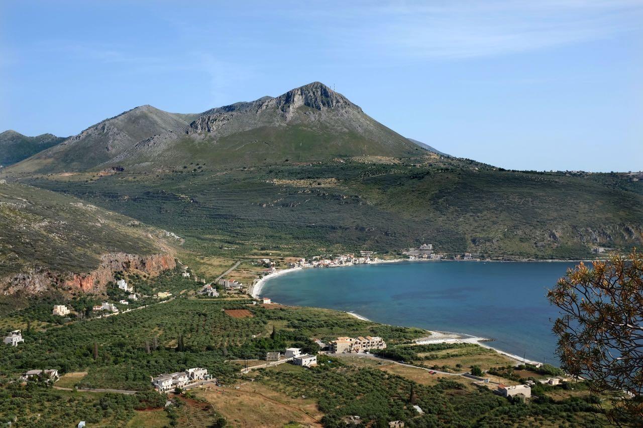 Bucht von Limeni, Mani Peloponnes