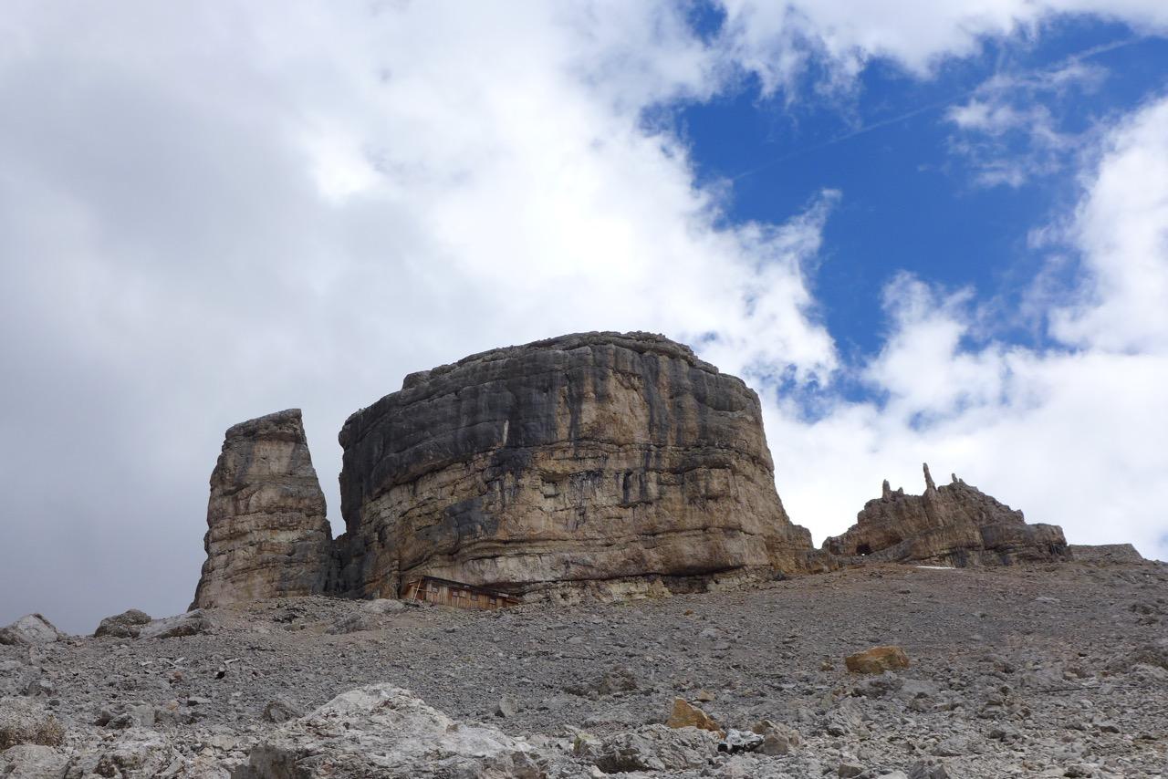 Monte Castello mit Bivacco della Pace