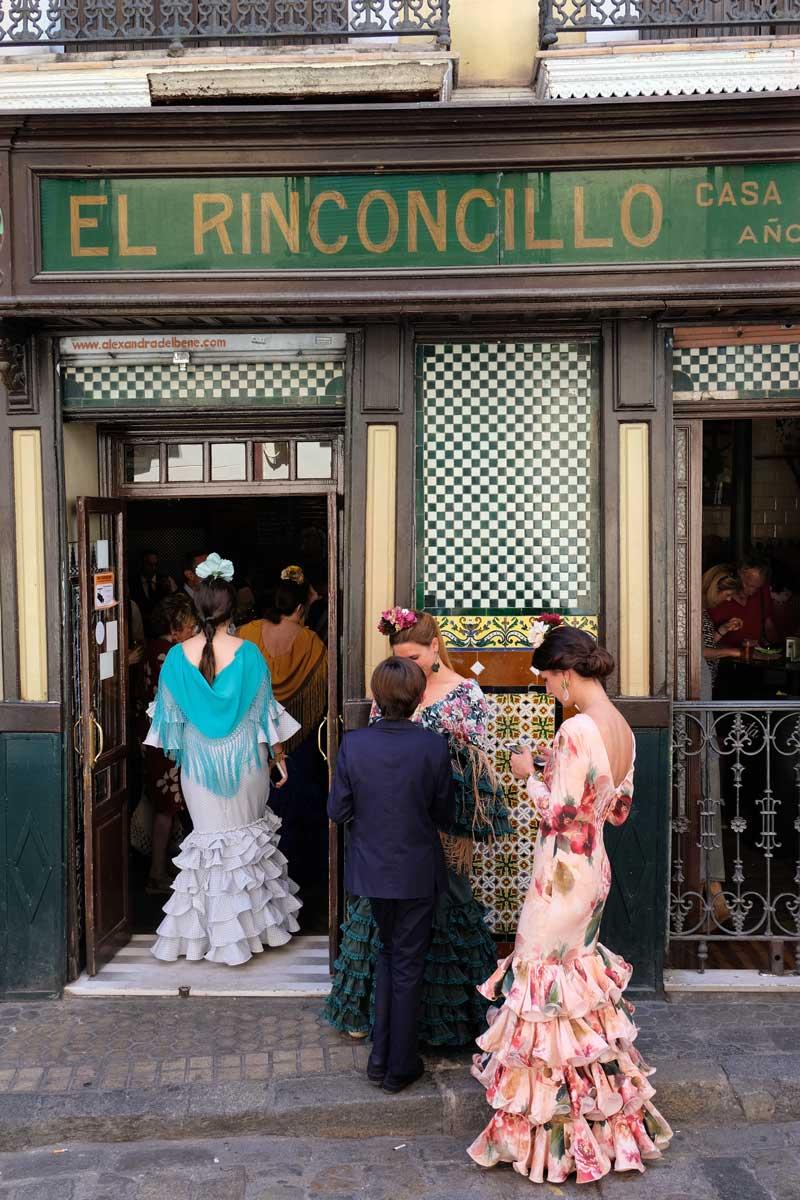 El Rinconcillo älteste Tapasbar Sevillas