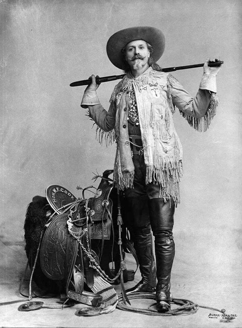 William F. Cody alias Bufallo Bill
