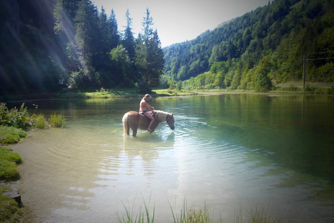 Am Wiesensee Salzburger Land