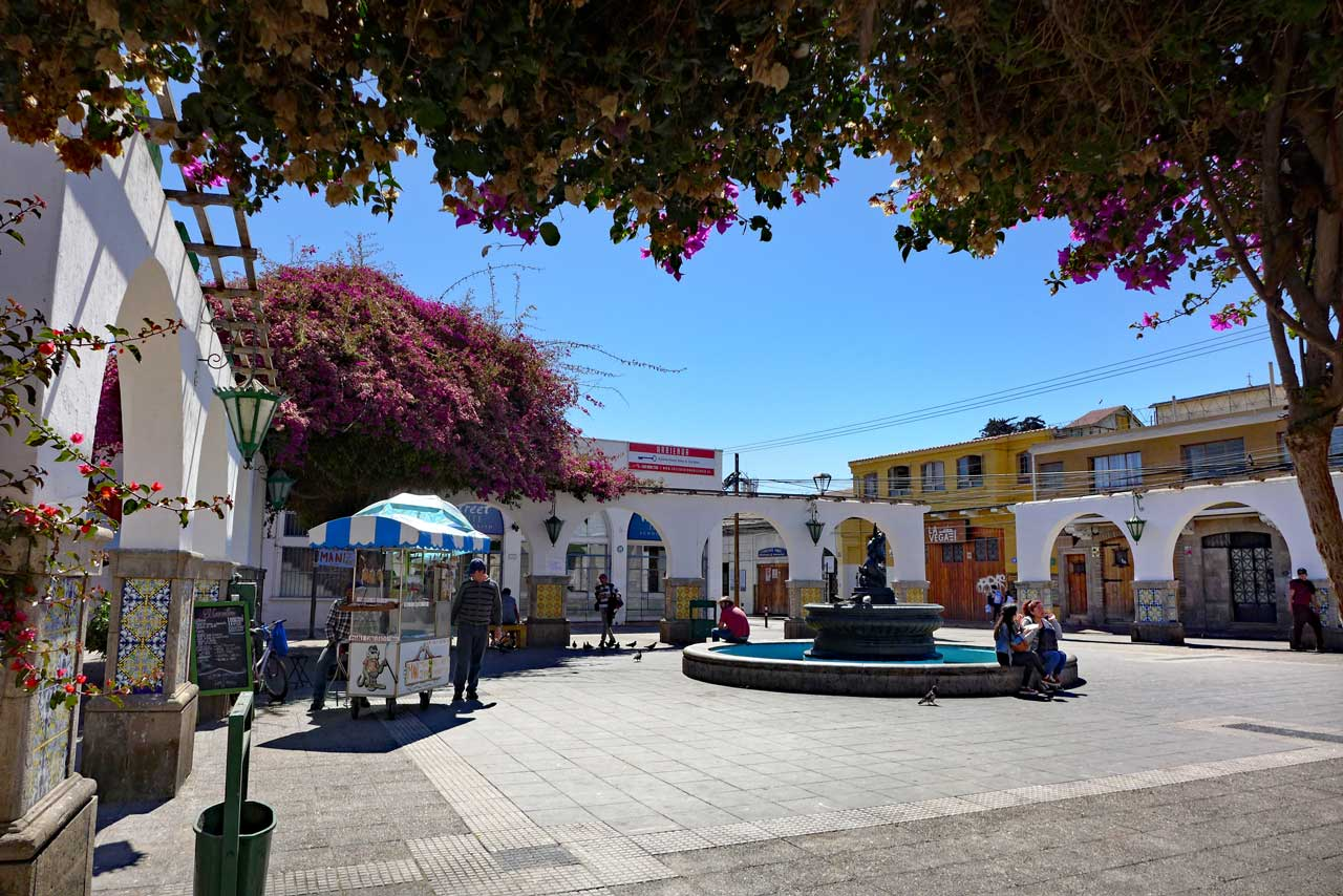 Plaza in La Serena