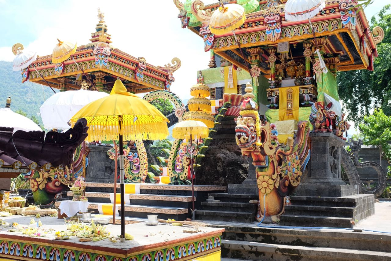 Tempel in Pemuteran Bali Norden