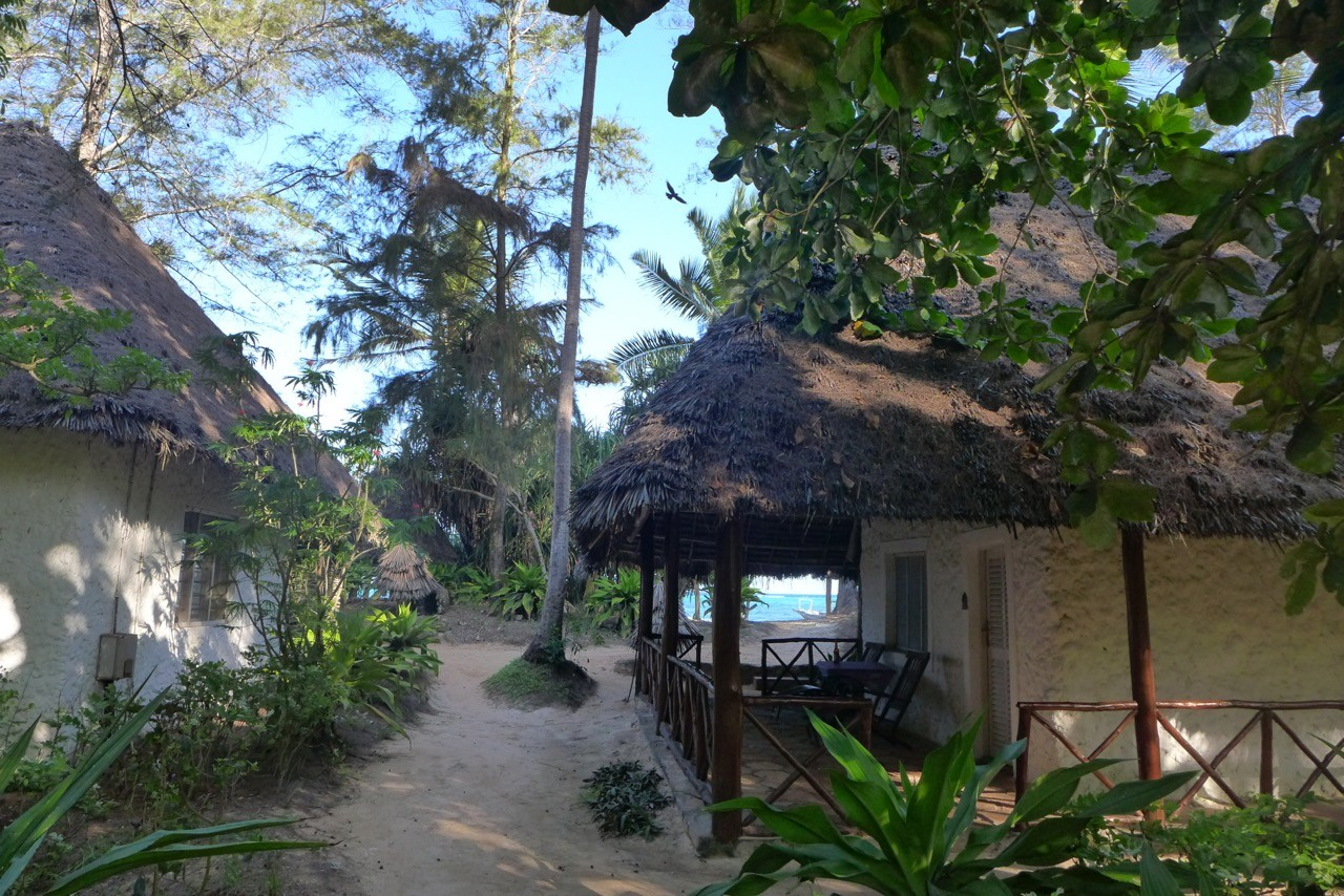 Schöne Beach Bungalows im Matemwe Beach Village