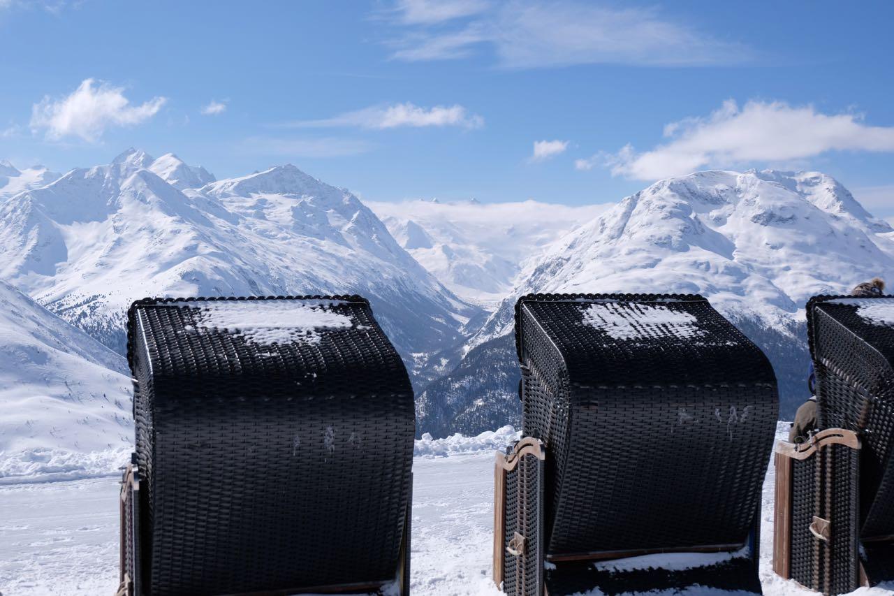Atemberaubend – die Aussicht vom Muottas Muragl über St. Moritz und Oberengadin
