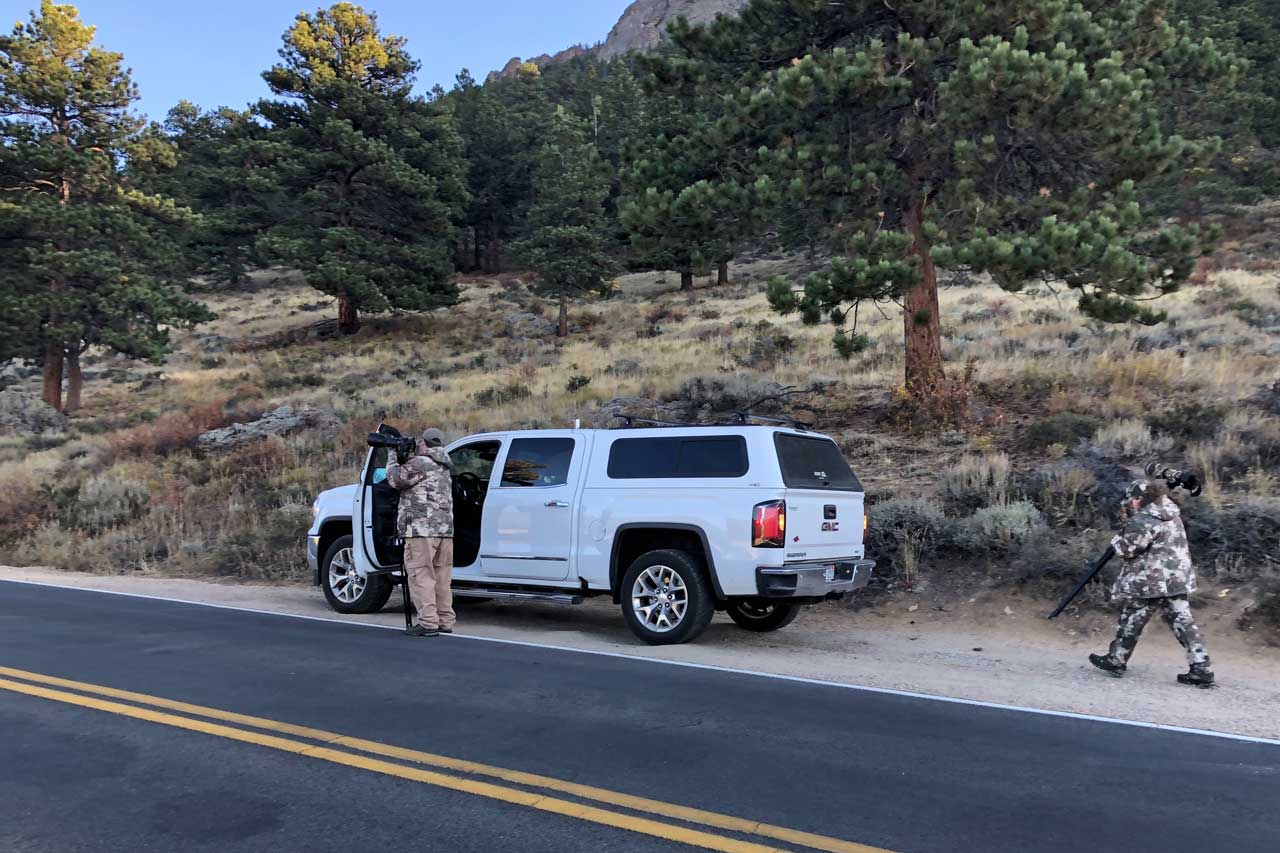 Ambitionierte Fotografen unterwegs im Rocky Mountain NP