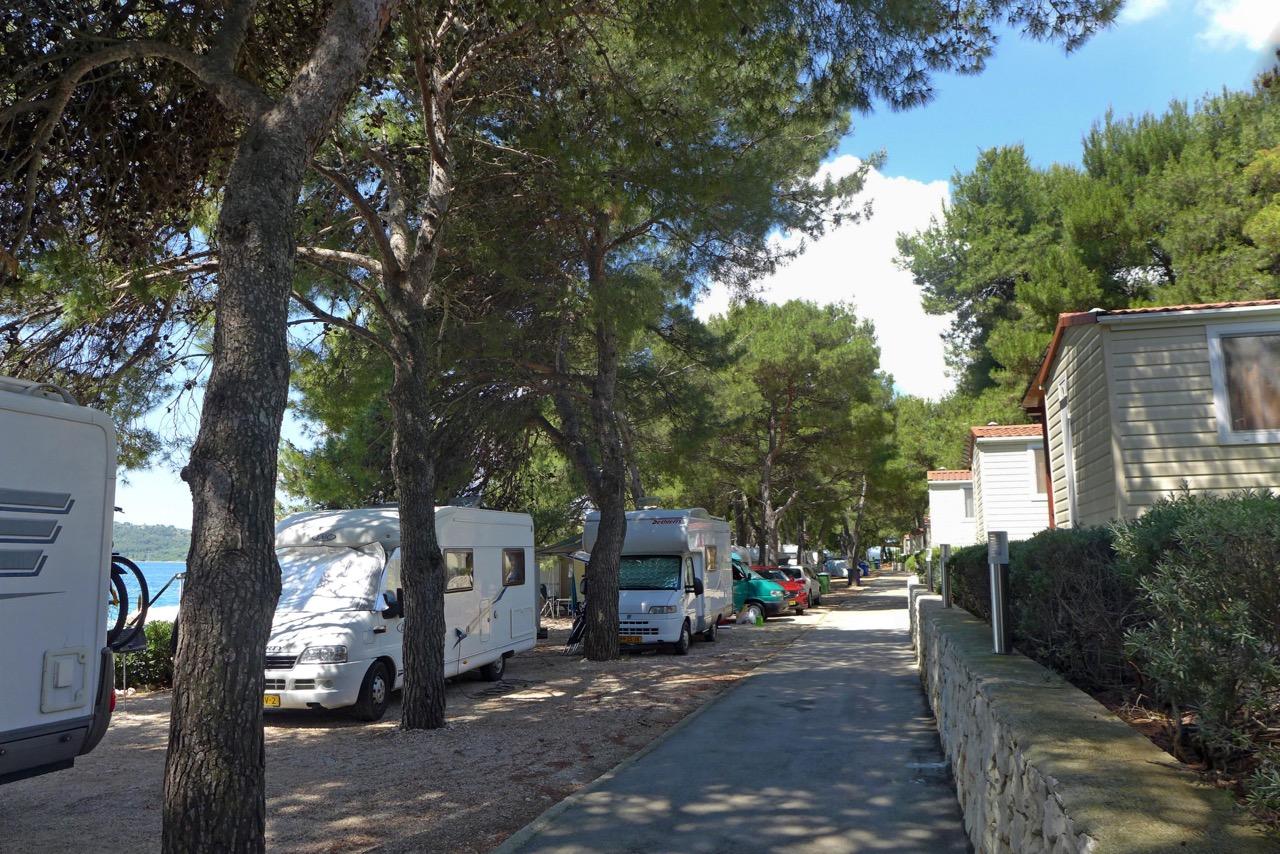 Campingplatz Rožac auf der Insel Ciovo /Trogir