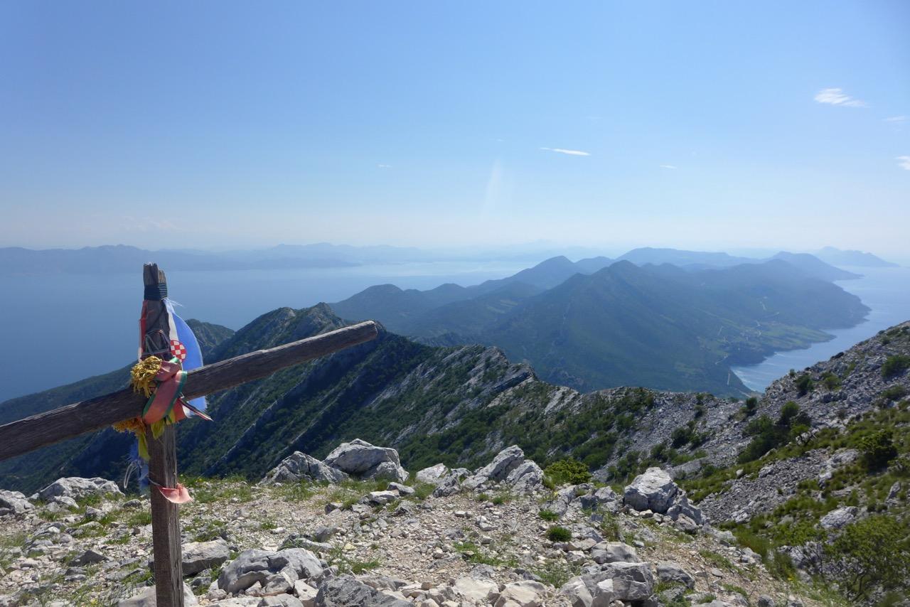 Auf dem Gipfel des Sveti Ilja
