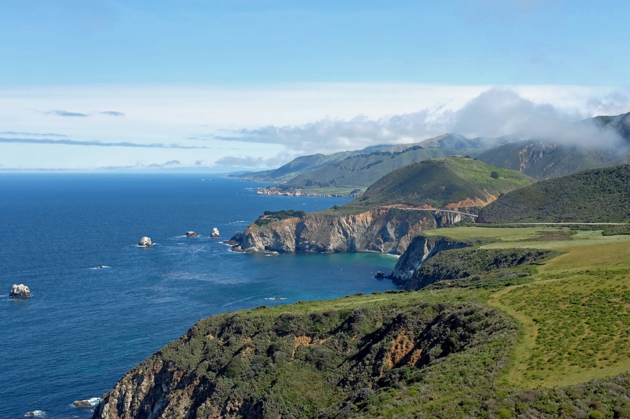 Bixby Bridge von Hurricane Point