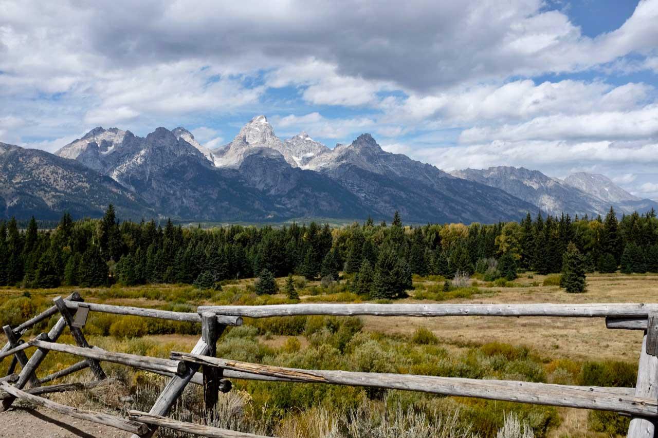 Blacktail Ponds Overlook Grand Teton