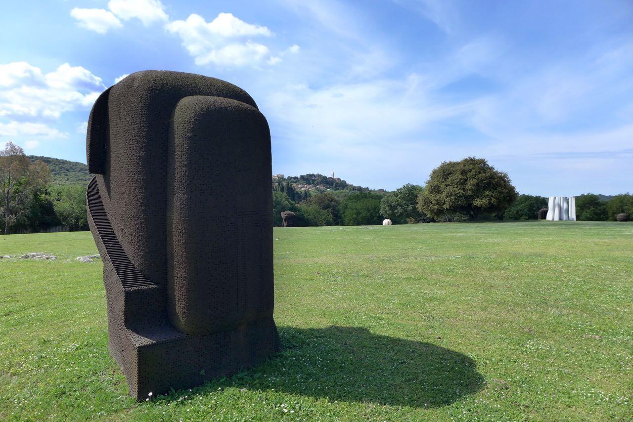 Weltklasse Skulpturen in Vrsar