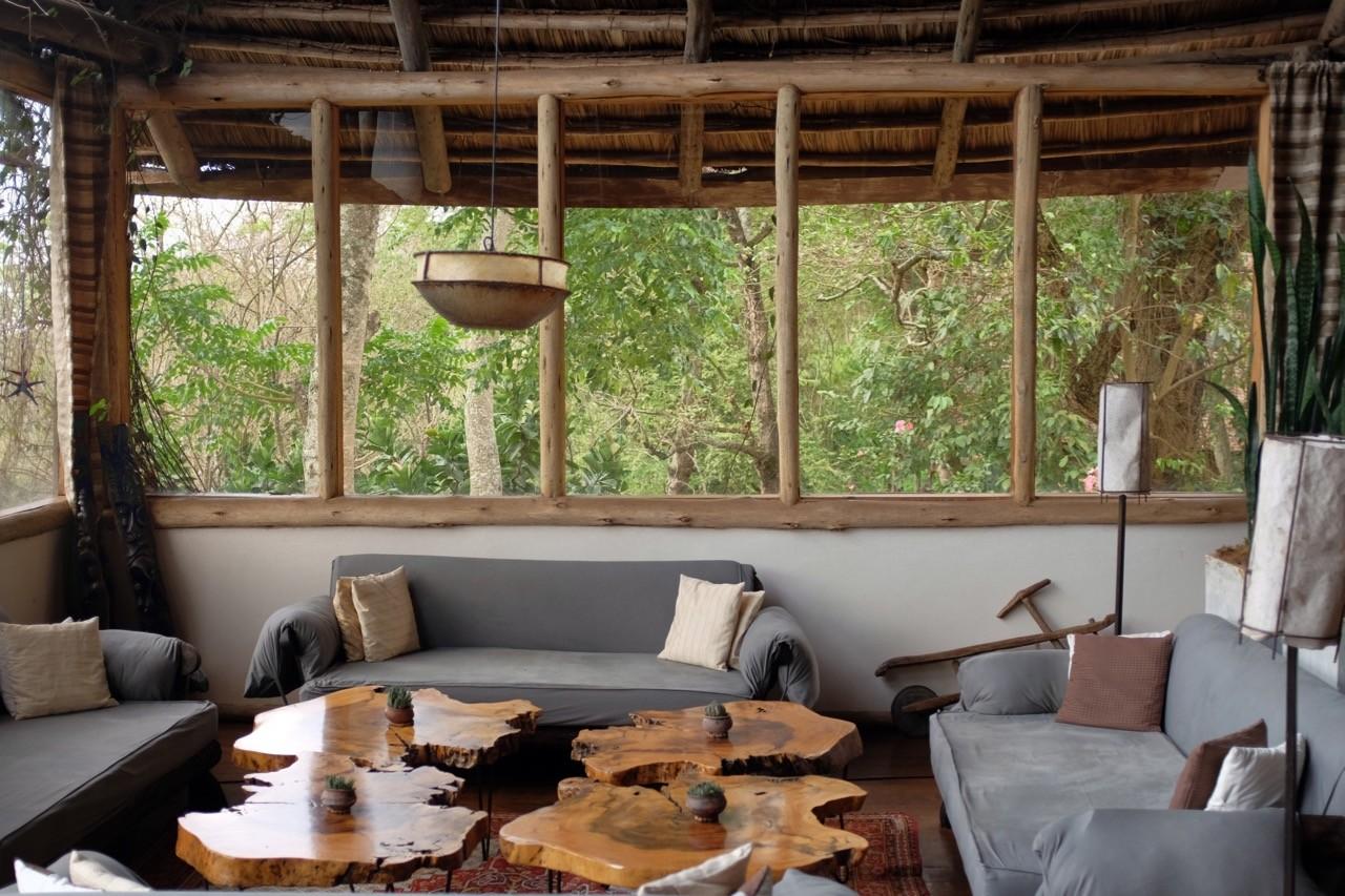 African-style Bar & Lounge, Karama Lodge Arusha