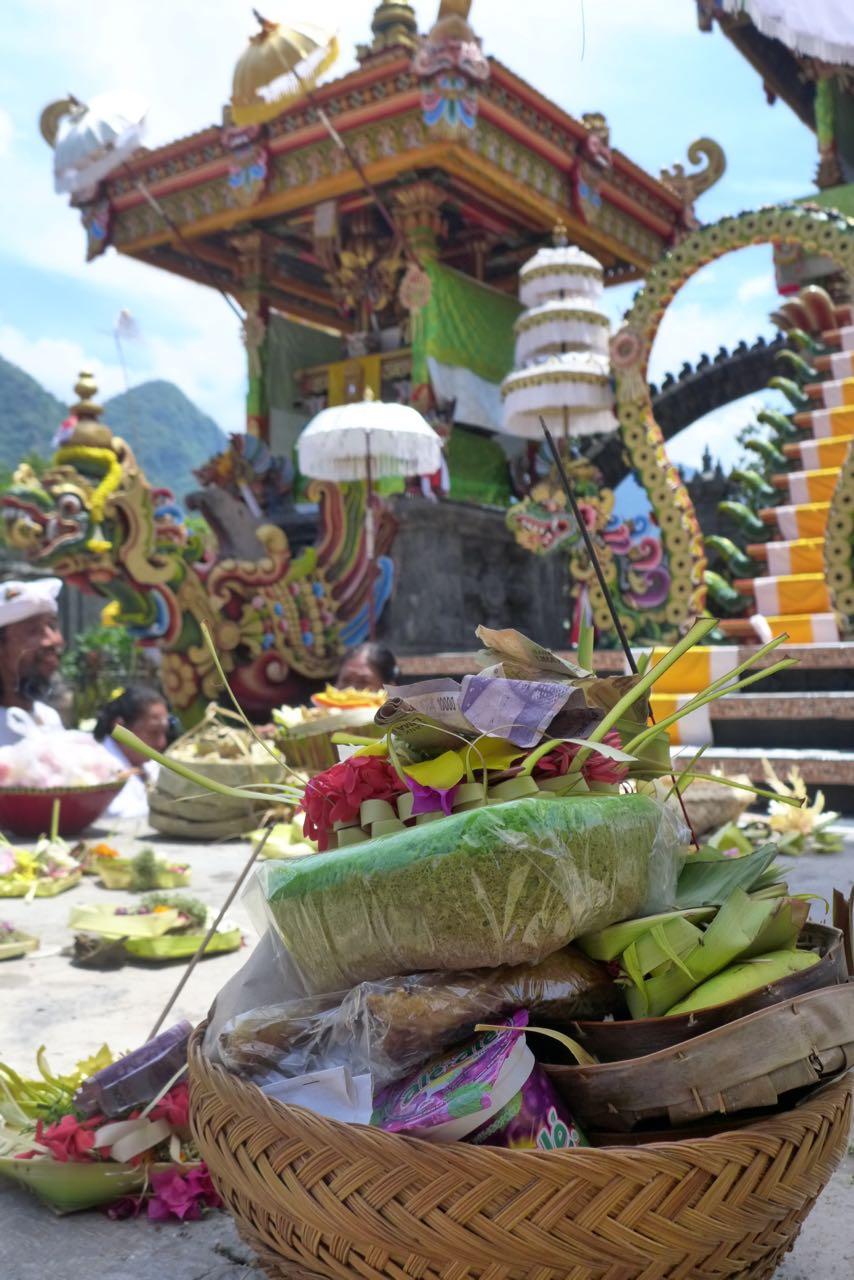 Tempel mit Aussicht bei Pemuteran
