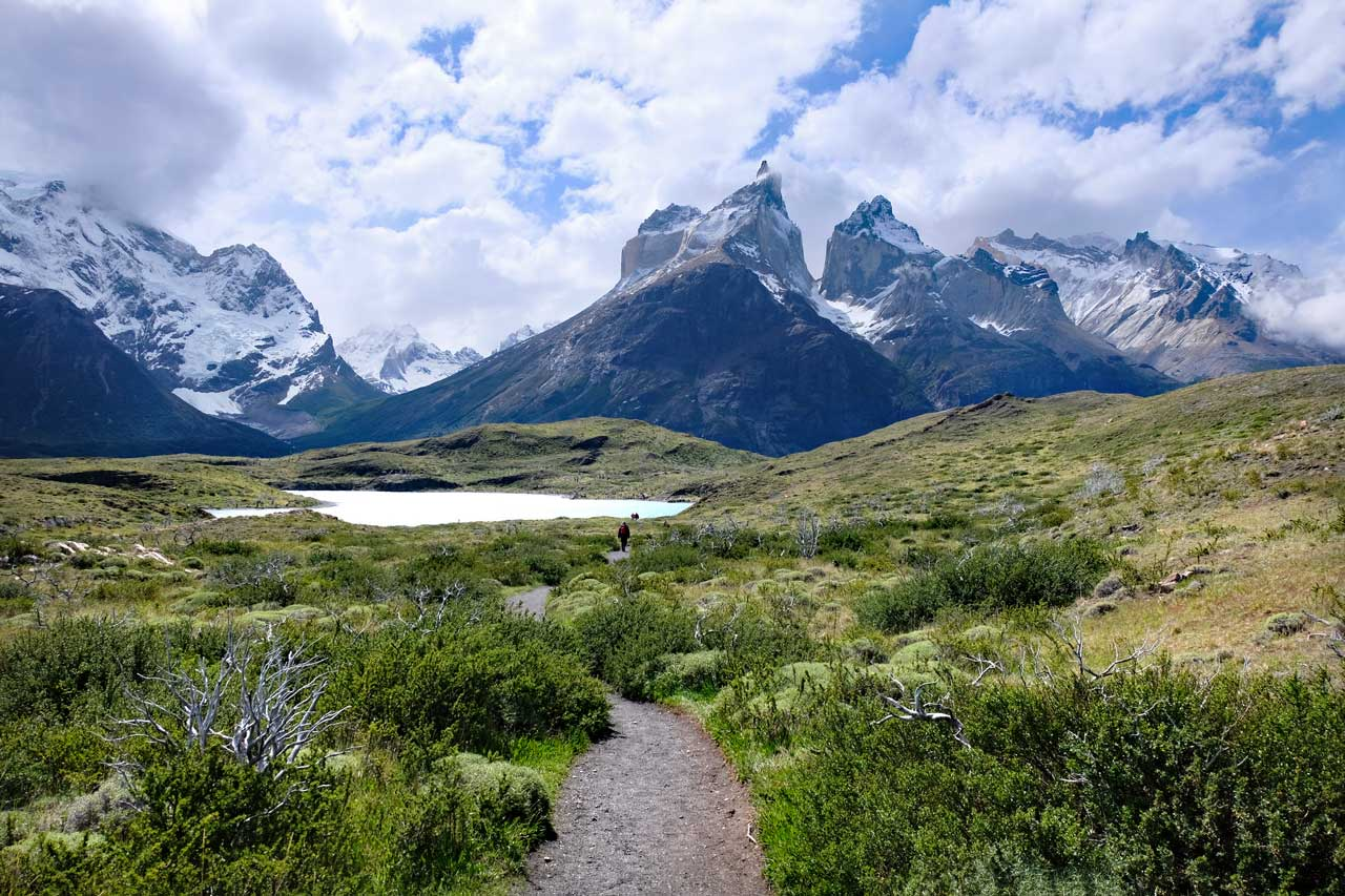 Wanderweg Mirador Cuernos, Torres del Paine