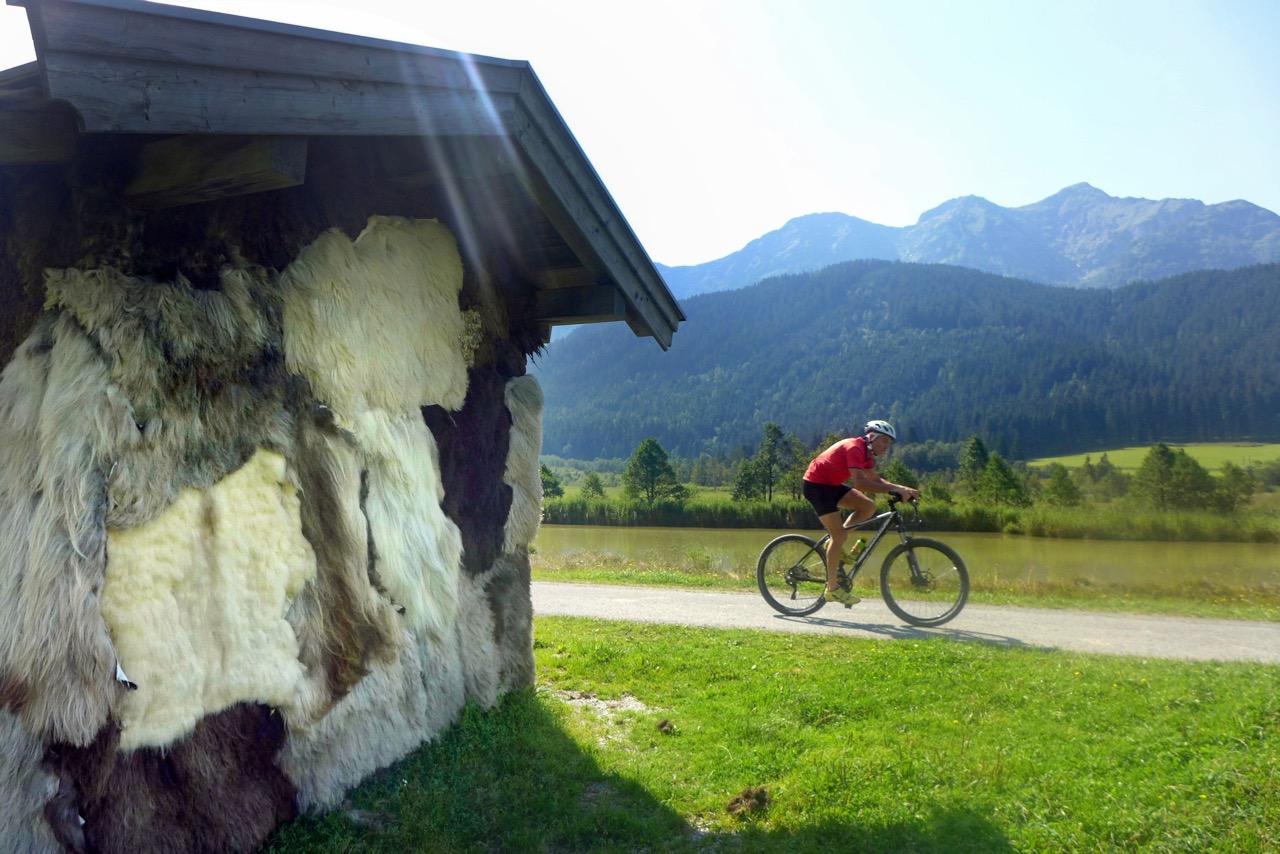Auf Biker-Genusstour in Saalfelden-Leogang