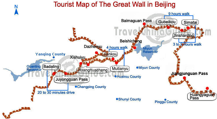 Chinesische Mauer Karte.Peking Tipp Einsame Wanderung Auf Der Chinesischen Mauer Reiseblog