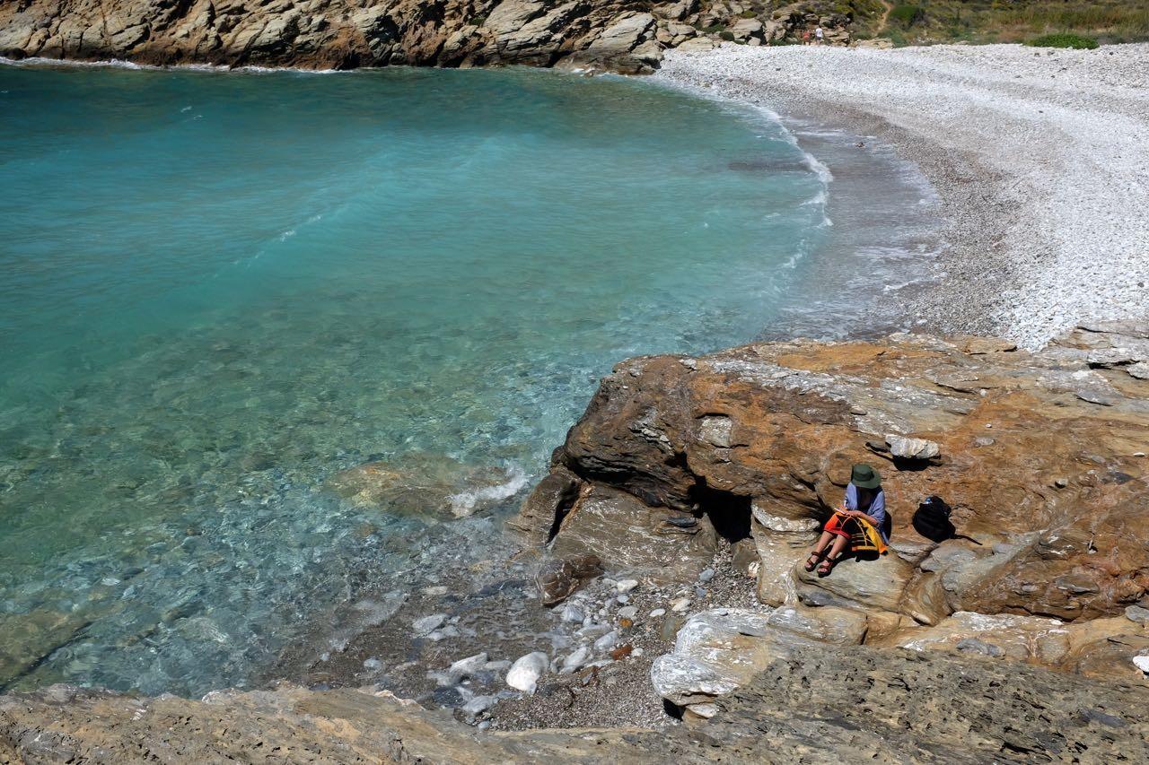 Herrliche Badebucht Kapoi bei Vathia – Mani, Peloponnes