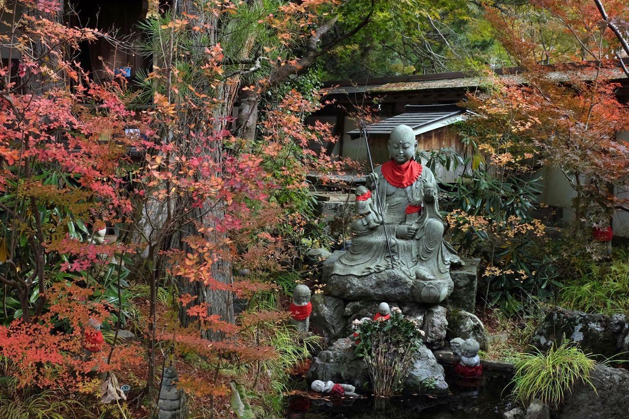 Garten von Sanbion, Tempelunterkunft in Koyasan