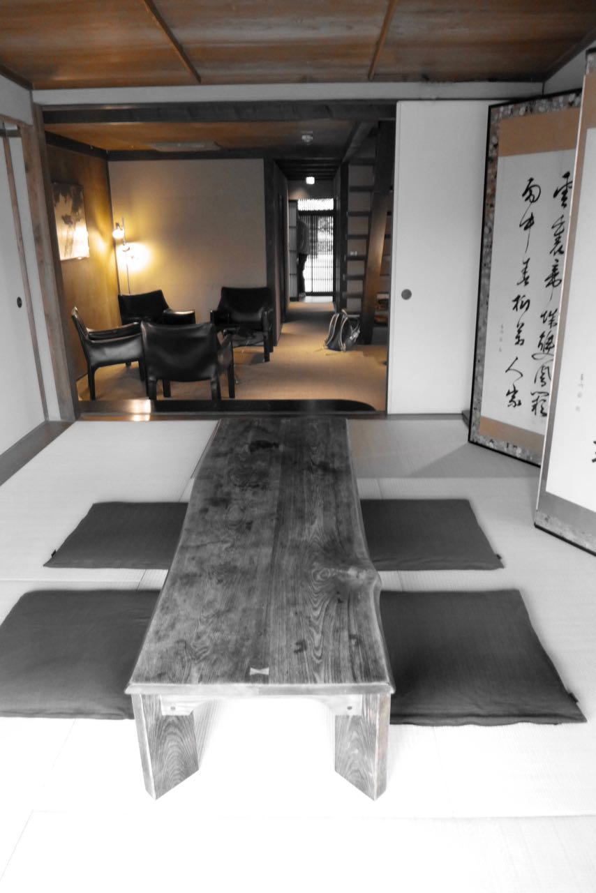 Kyoto traditional Iori Machiya house rental at river Stay Vermietung historisches Kyoto Haus am Fluss Review