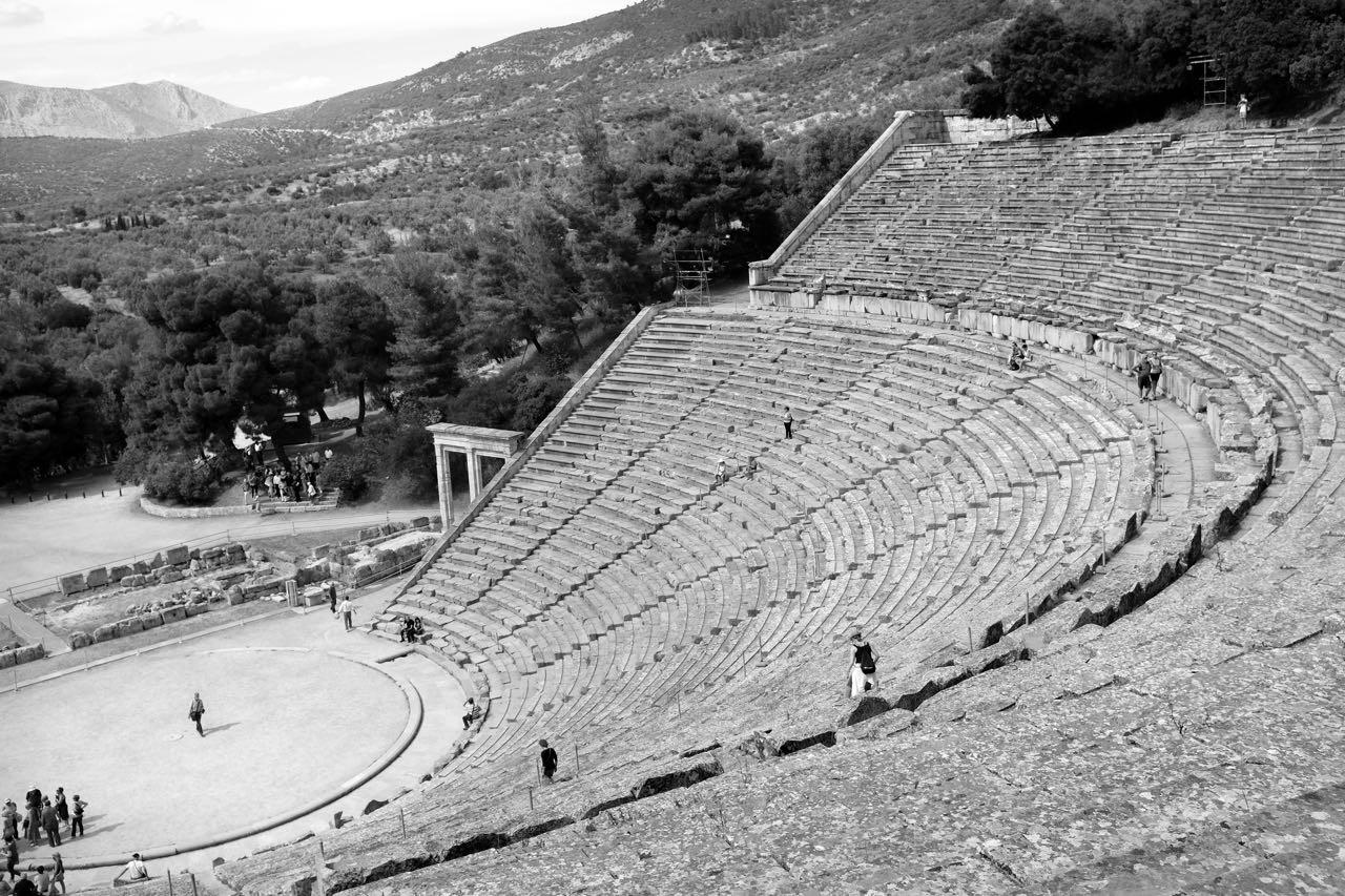 Schönstes Theater der Antike in Epidauros