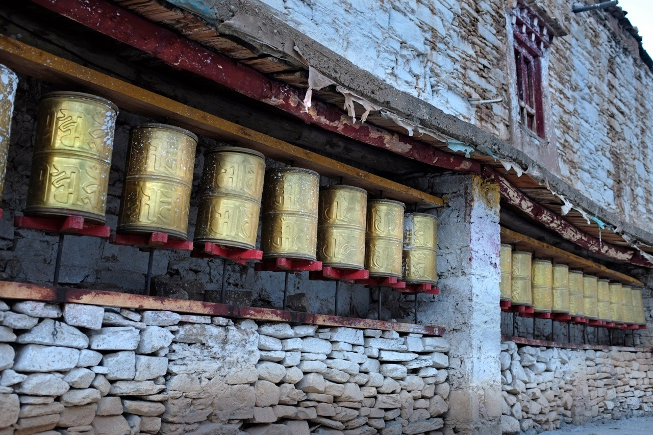 Tempel im Dorf Zhonglu