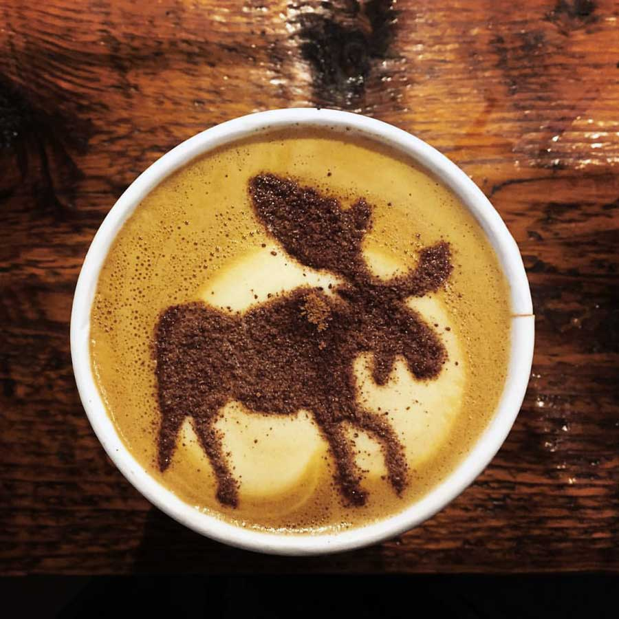 Cowboy Coffee in Jackson Wyoming