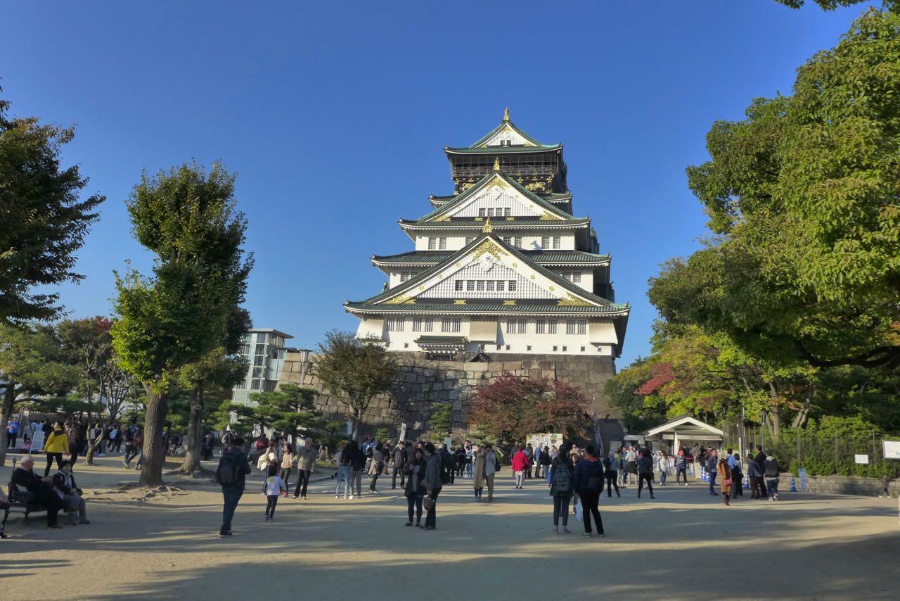 Burg Osaka Castle