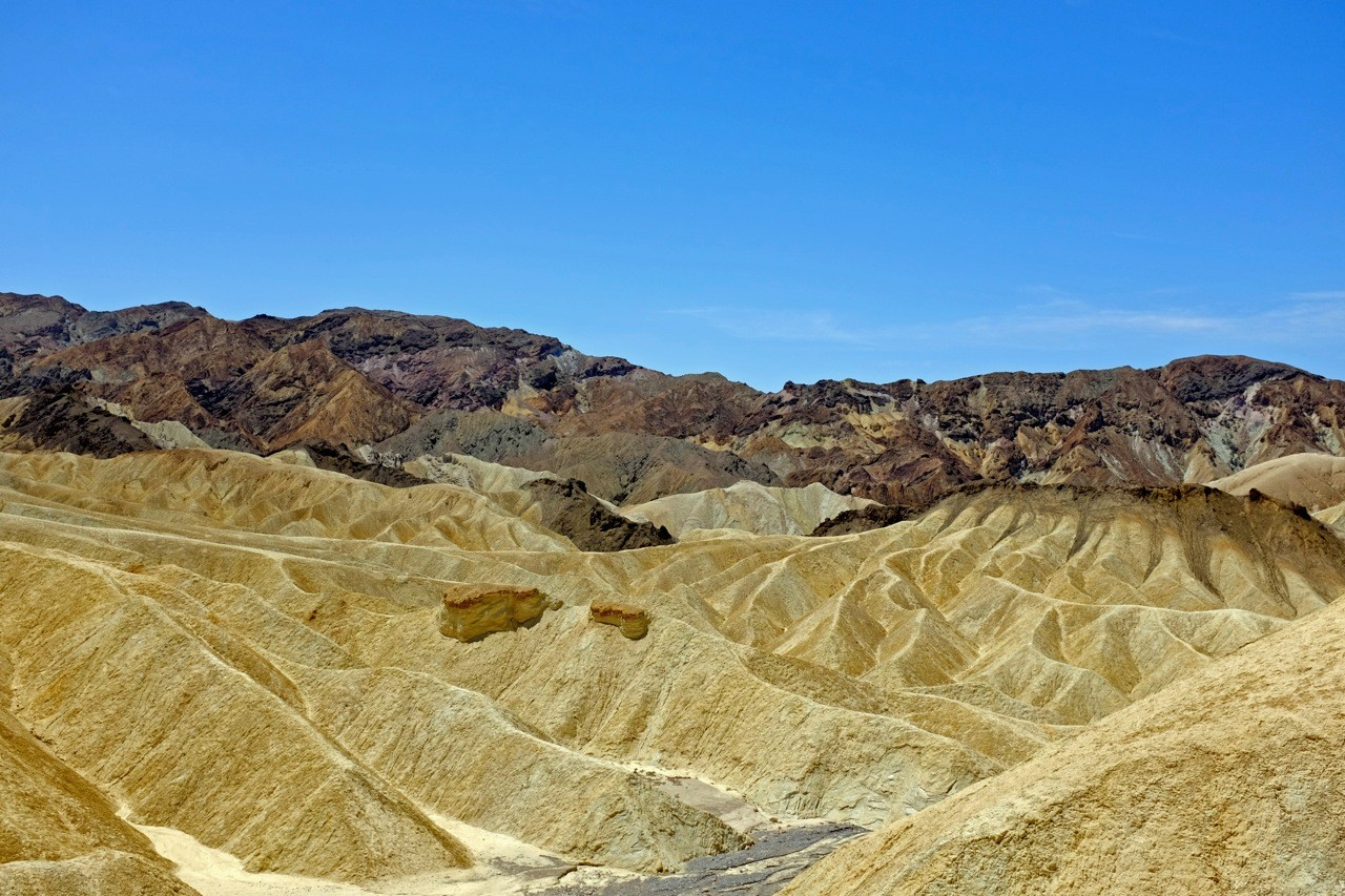 Zabriskie Point Death Valley Nationalparks Südwesten
