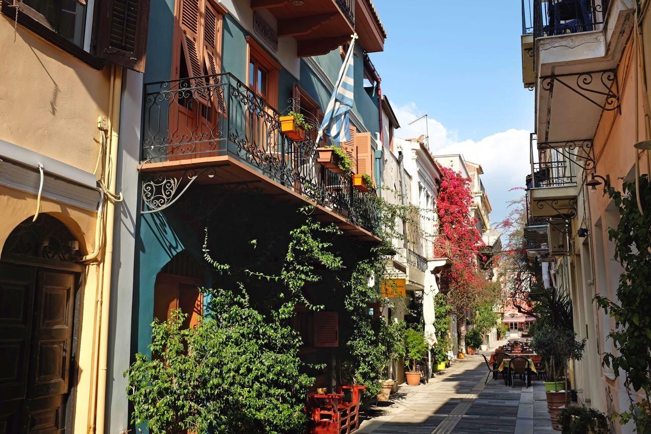 Hotel Kyveli Suites in Nafplions Altstadt, Peloponnes
