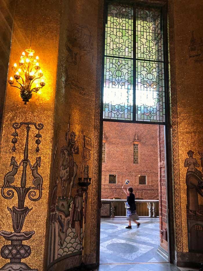 Stockholmer Rathaus Goldener Saal