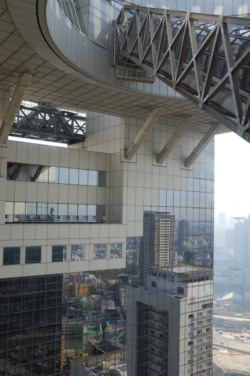 Das futuristische Umeda Sky Building Osaka